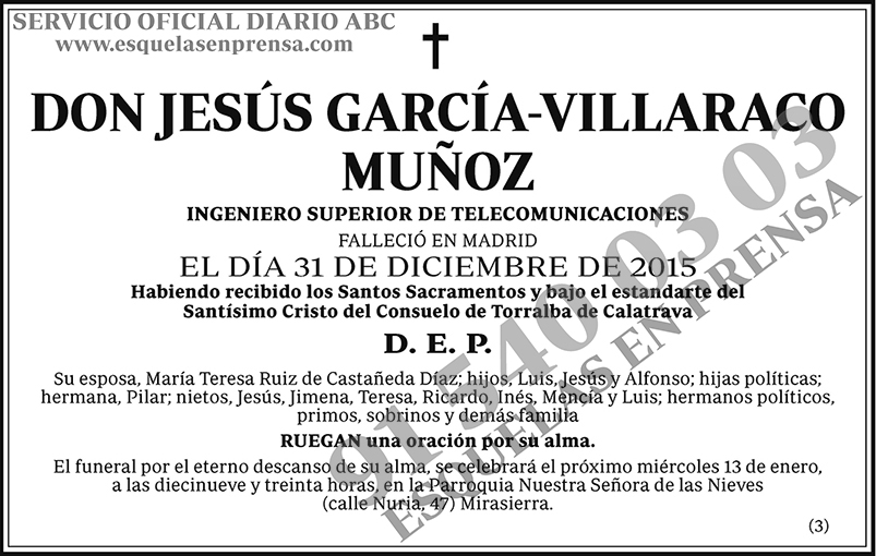 Jesús García-Villaraco Muñoz